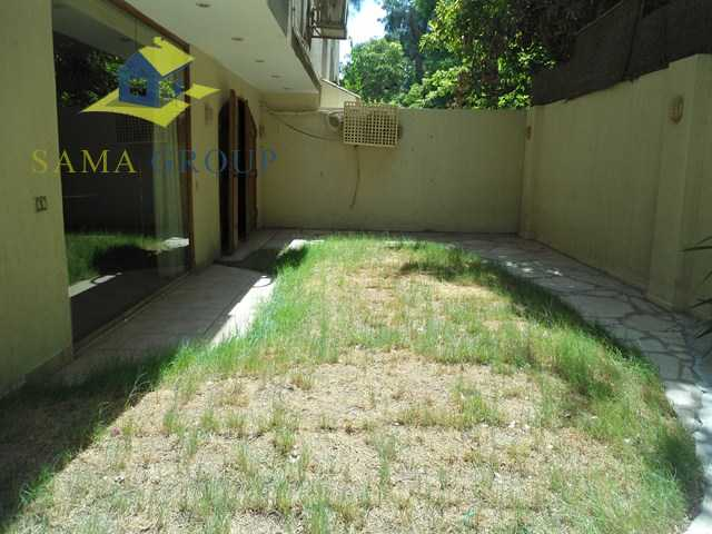 Semi Furnished Ground Floor Douplex With Garden For Rent In Maadi