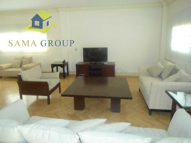 modern Furnished Apartment Duplex For Rent In Maadi