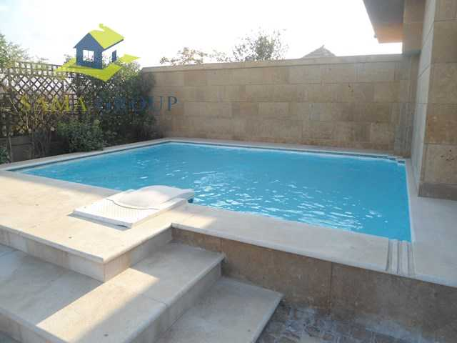 Semi Furnished Apartment Duplex With Pool For Rent In Maadi