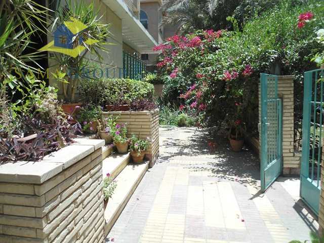 Ground Floor apartment With Garden For Rent In Maadi,Furnished,Ground Floor NO #2