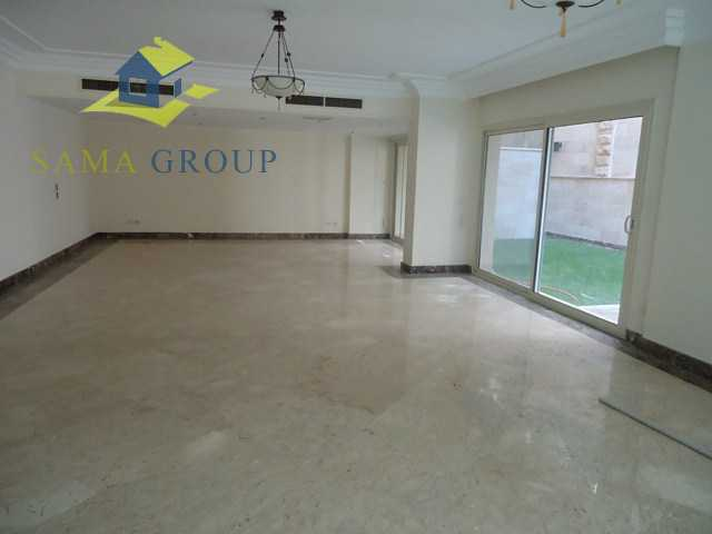 Ground Floor Duplex With Private Pool For rent In Maadi,Semi furnished,Ground Floor duplex NO #12