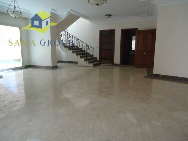 Ground Floor Duplex With Private Pool For rent In Maadi,Semi furnished,Ground Floor duplex NO #10