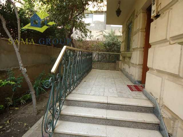 Ground Floor Duplex Apartment For Rent In Maadi
