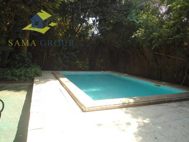Private Villa With Swimming Pool For Rent In Maadi
