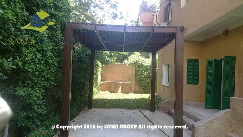 Semi Furnished Ground floor Apartment For Rent In Maadi