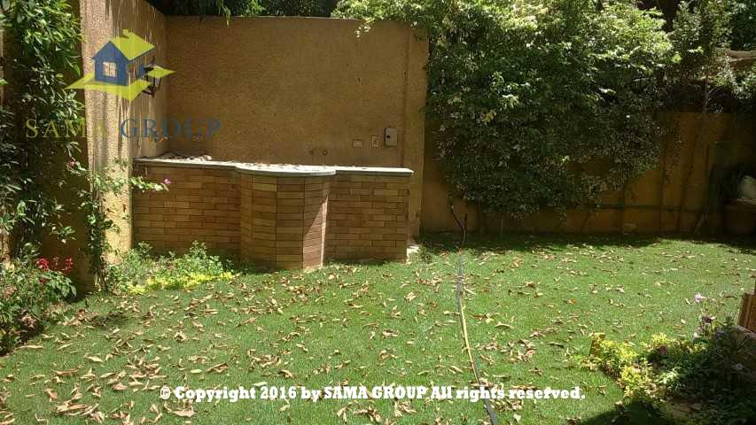 Semi Furnished Ground floor Apartment For Rent In Maadi,Furnished,Ground Floor NO #22