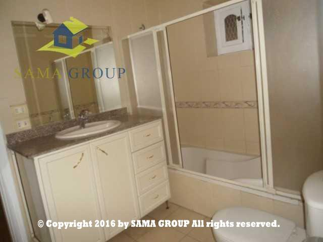Semi Furnished Ground floor Apartment For Rent In Maadi,Furnished,Ground Floor NO #11