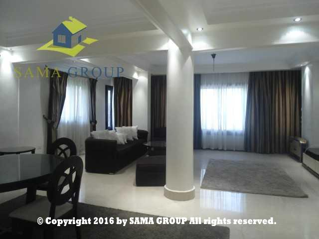 Modern Furnished Ground Floor With Garden Apartment For Rent In Maadi,Furnished,Ground Floor NO #13