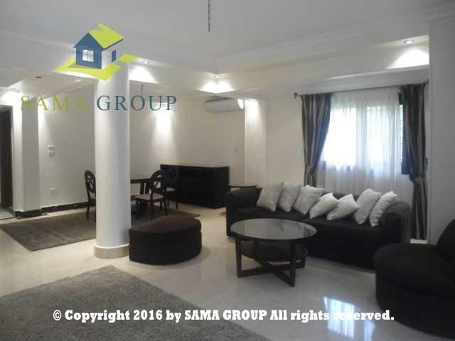 Modern Furnished Ground Floor With Garden Apartment For Rent In Maadi,Furnished,Ground Floor NO #12