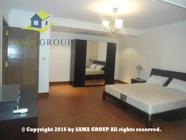 Modern Furnished Ground Floor With Garden Apartment For Rent In Maadi,Furnished,Ground Floor NO #4
