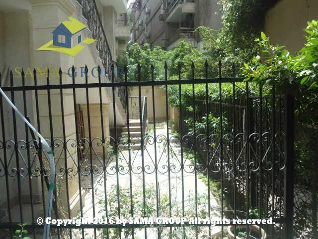 Modern Furnished Ground Floor With Garden Apartment For Rent In Maadi,Furnished,Ground Floor NO #15