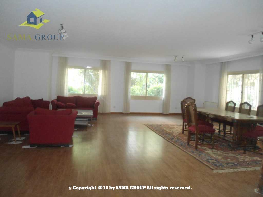 Modern Furnished Ground Floor Apartment For Rent In Maadi,Furnished,Ground Floor NO #15