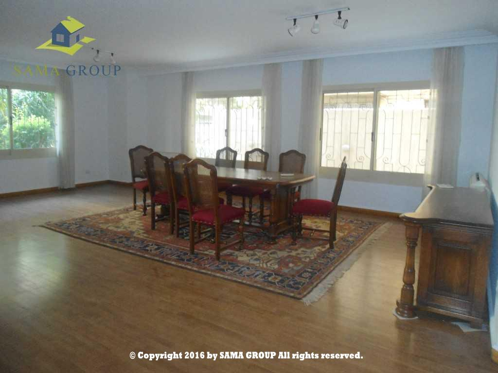 Modern Furnished Ground Floor Apartment For Rent In Maadi,Furnished,Ground Floor NO #16