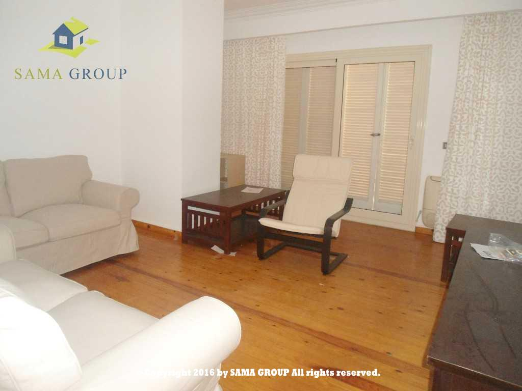 Modern Furnished Ground Floor Apartment For Rent In Maadi,Furnished,Ground Floor NO #12