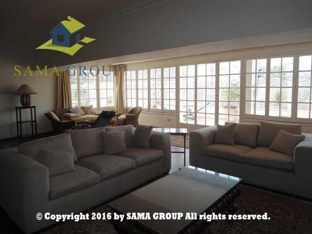 Modern Furnished Roof-top For Rent In Maadi