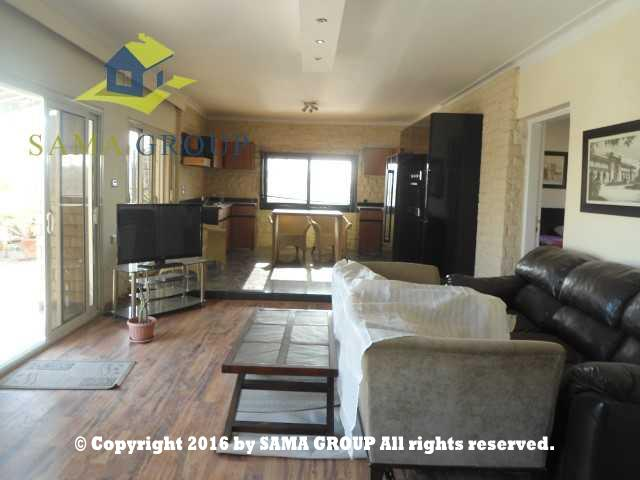 Modern Furnished Roof top For Rent In Maadi