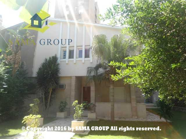 Villa with swimming pall For Rent In Maadi