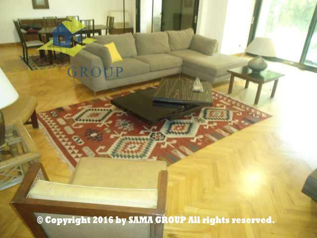 Ultra Modern Furnished Ground Floor With Garden For Rent In Maadi,Furnished,Ground Floor NO #3