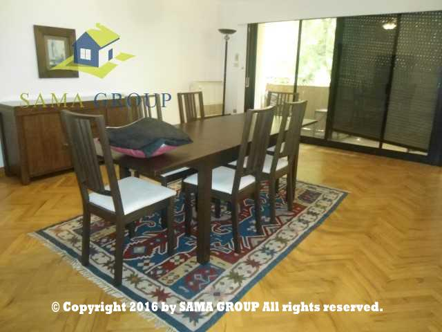 Ultra Modern Furnished Ground Floor With Garden For Rent In Maadi,Furnished,Ground Floor NO #5