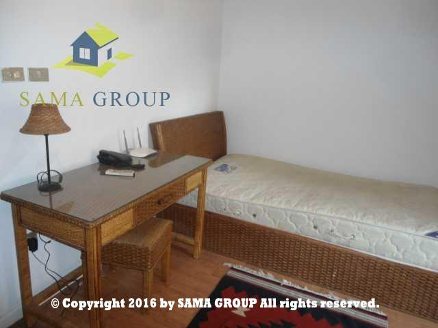 Ultra Modern Furnished Ground Floor With Garden For Rent In Maadi,Furnished,Ground Floor NO #8