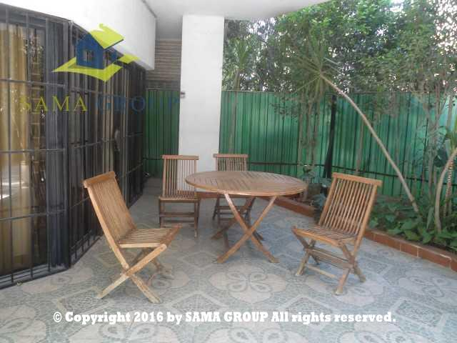 Furnished Ground Floor Duplex For Rent In Maadi