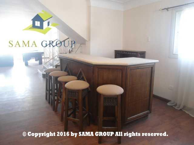 Fully Furnished Penthouse Triplex For Rent In Maadi,Modern Furnished,Penthouse NO #18