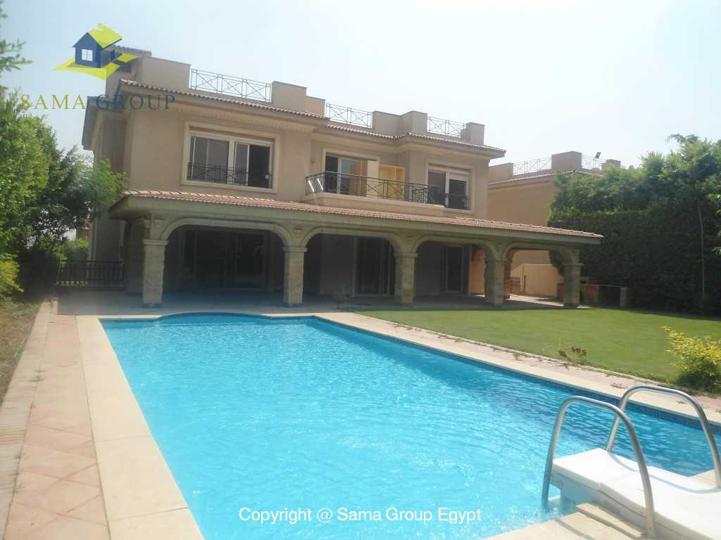 Villa With Pool For Rent At The Extension In Katameya Heights