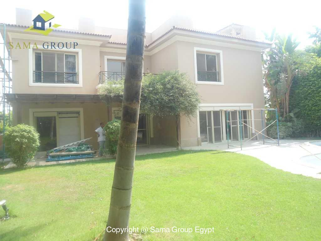Villa For Rent In Katameya Heights,Semi furnished,Villa NO #3