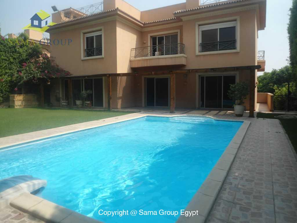 Villa  For Rent In Katameya Heights,Semi furnished,Villa NO #1