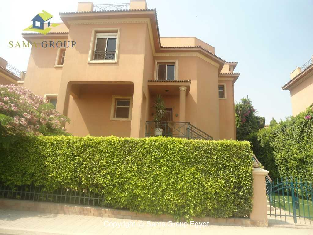 Villa  For Rent In Katameya Heights,Semi furnished,Villa NO #15