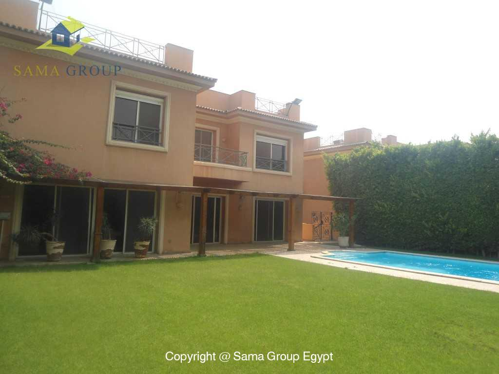 Villa  For Rent In Katameya Heights,Semi furnished,Villa NO #13