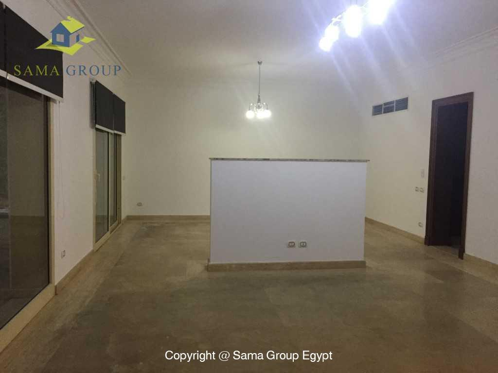 Ground Floor Duplex For Rent In Katameya Heights,Semi furnished,Penthouse Duplex NO #15