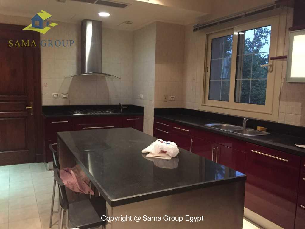 Ground Floor Duplex For Rent In Katameya Heights,Semi furnished,Penthouse Duplex NO #17