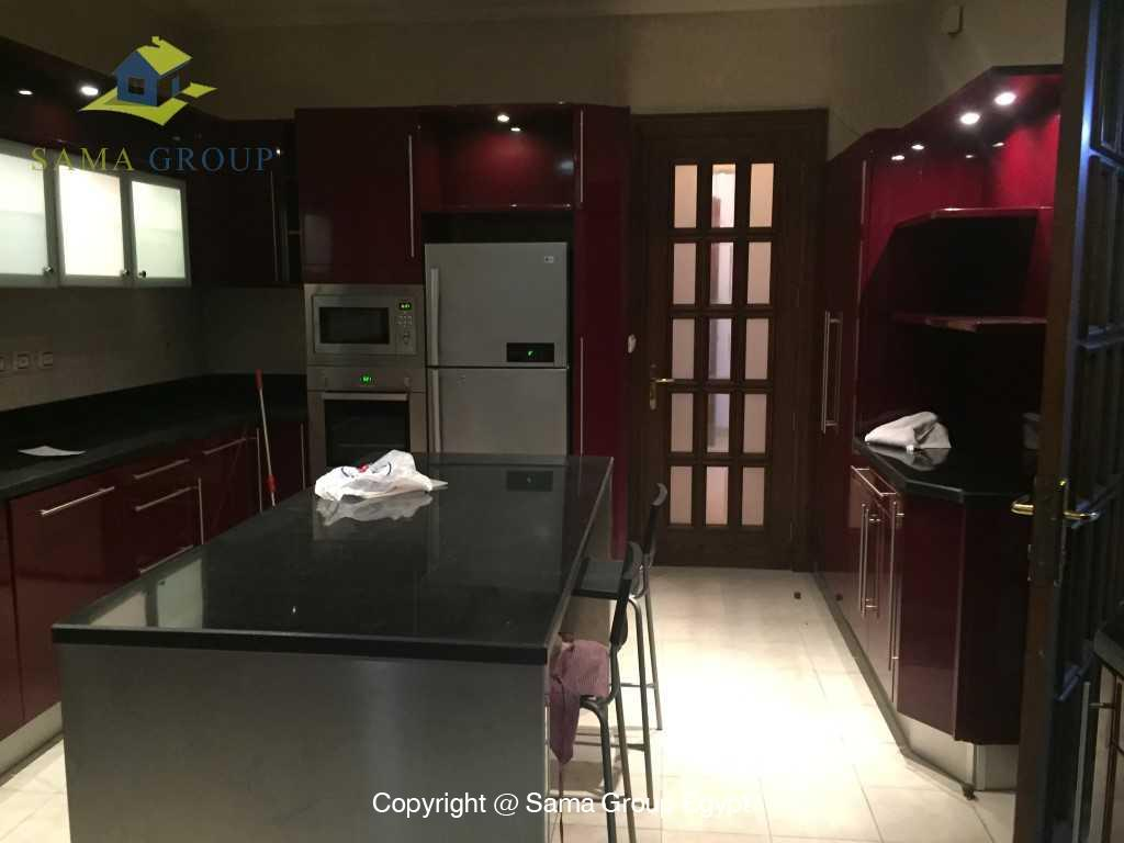 Ground Floor Duplex For Rent In Katameya Heights,Semi furnished,Penthouse Duplex NO #18