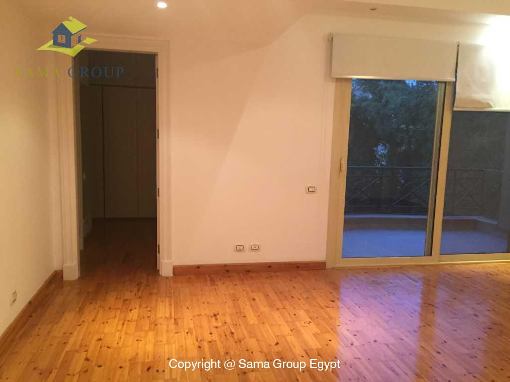Ground Floor Duplex For Rent In Katameya Heights,Semi furnished,Penthouse Duplex NO #21