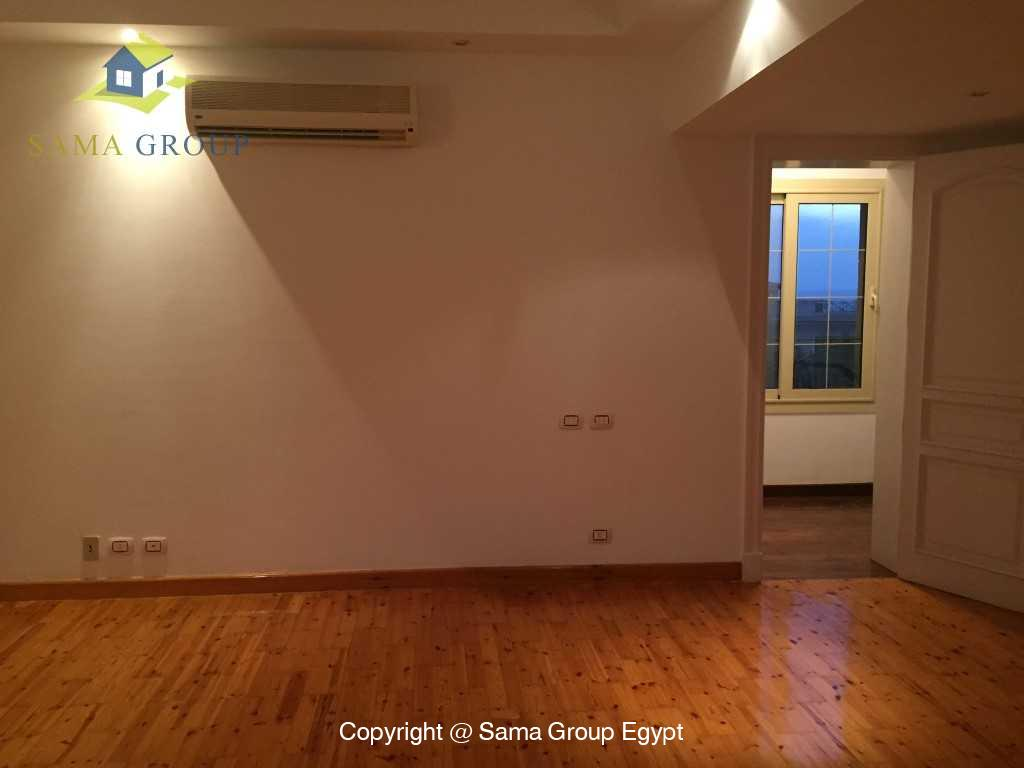 Ground Floor Duplex For Rent In Katameya Heights,Semi furnished,Penthouse Duplex NO #9