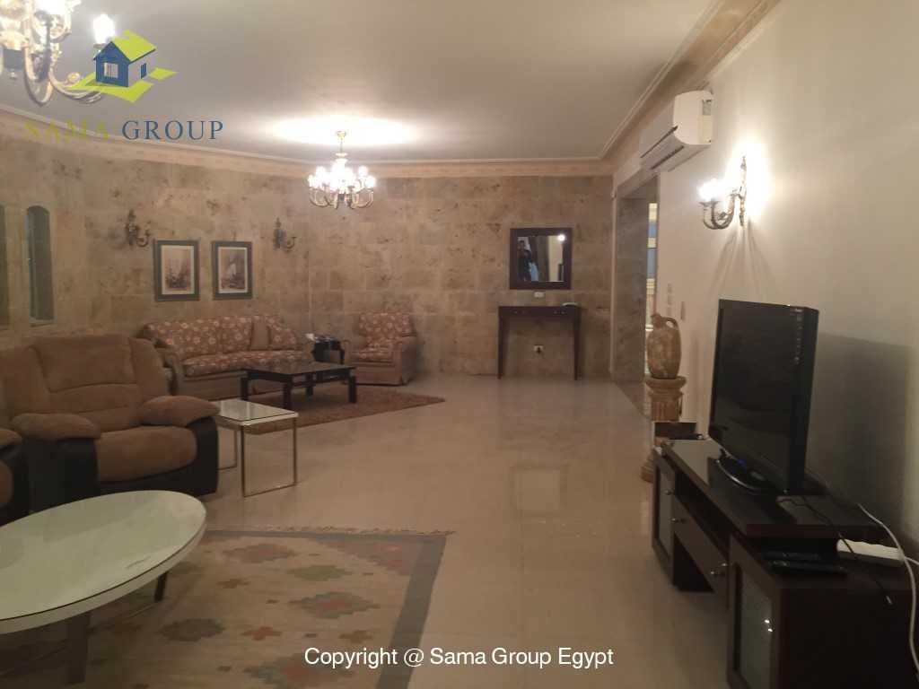 Furnished Ground Floor Duplex For Rent In Katameya Heights,Furnished,Ground Floor - duplex NO #2