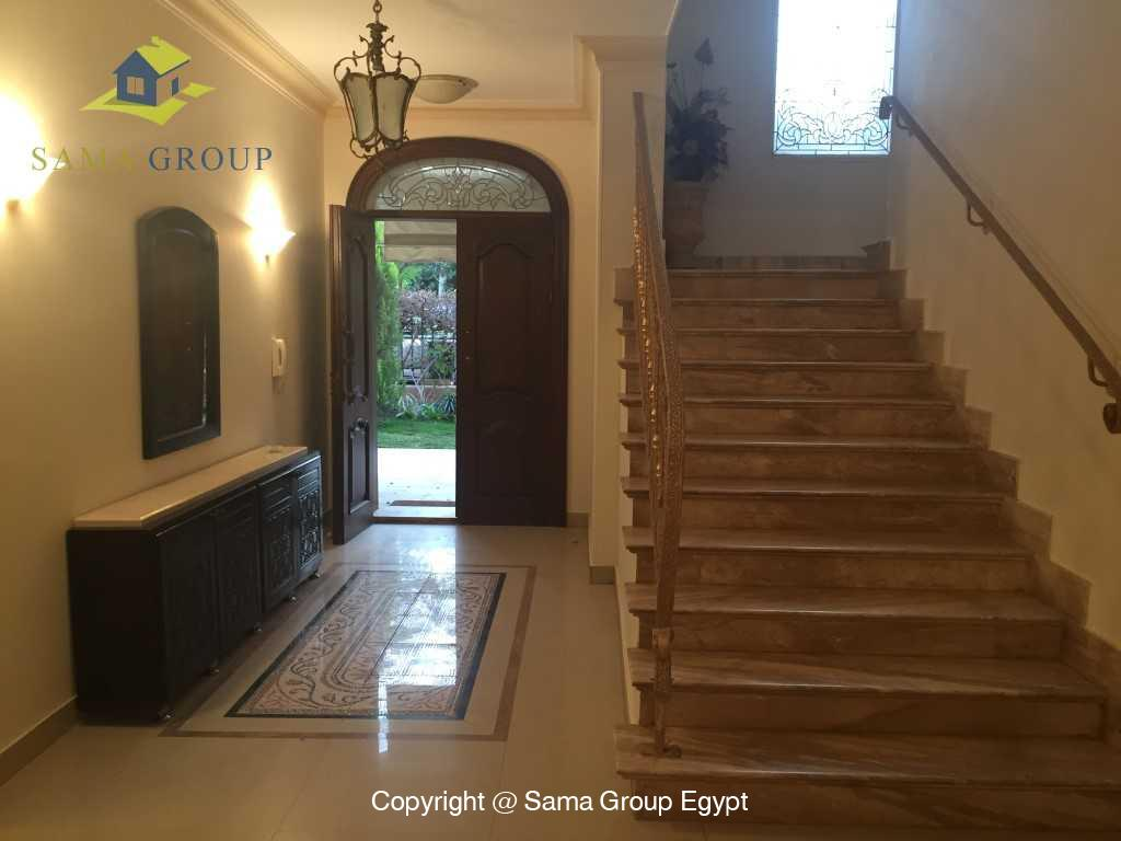 Furnished Ground Floor Duplex For Rent In Katameya Heights,Furnished,Ground Floor - duplex NO #5