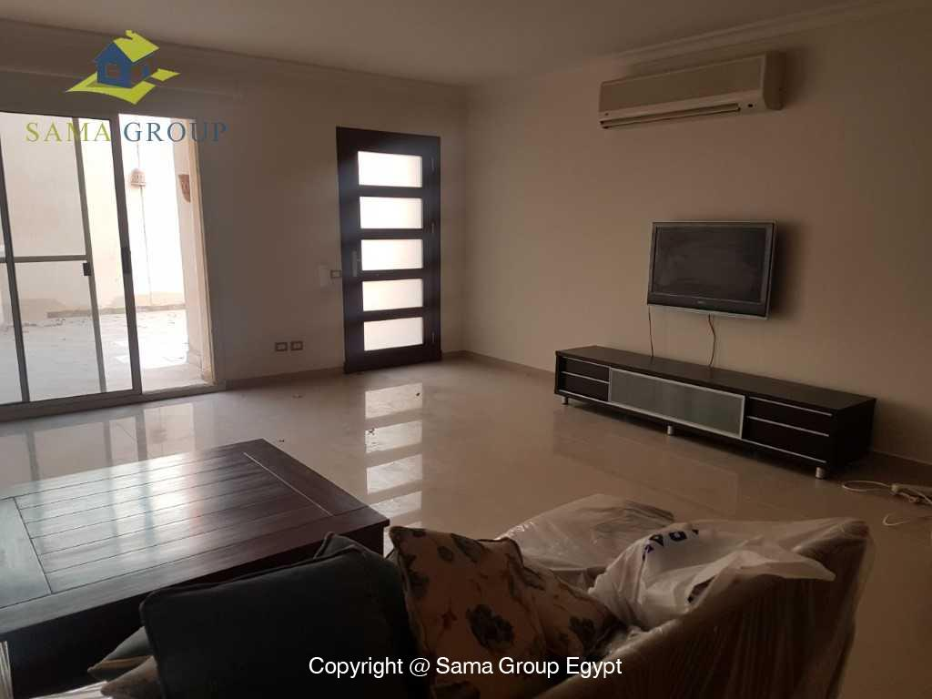 Modern Ground Floor For Rent In Katameya Heights,Modern Furnished,Ground Floor NO #11