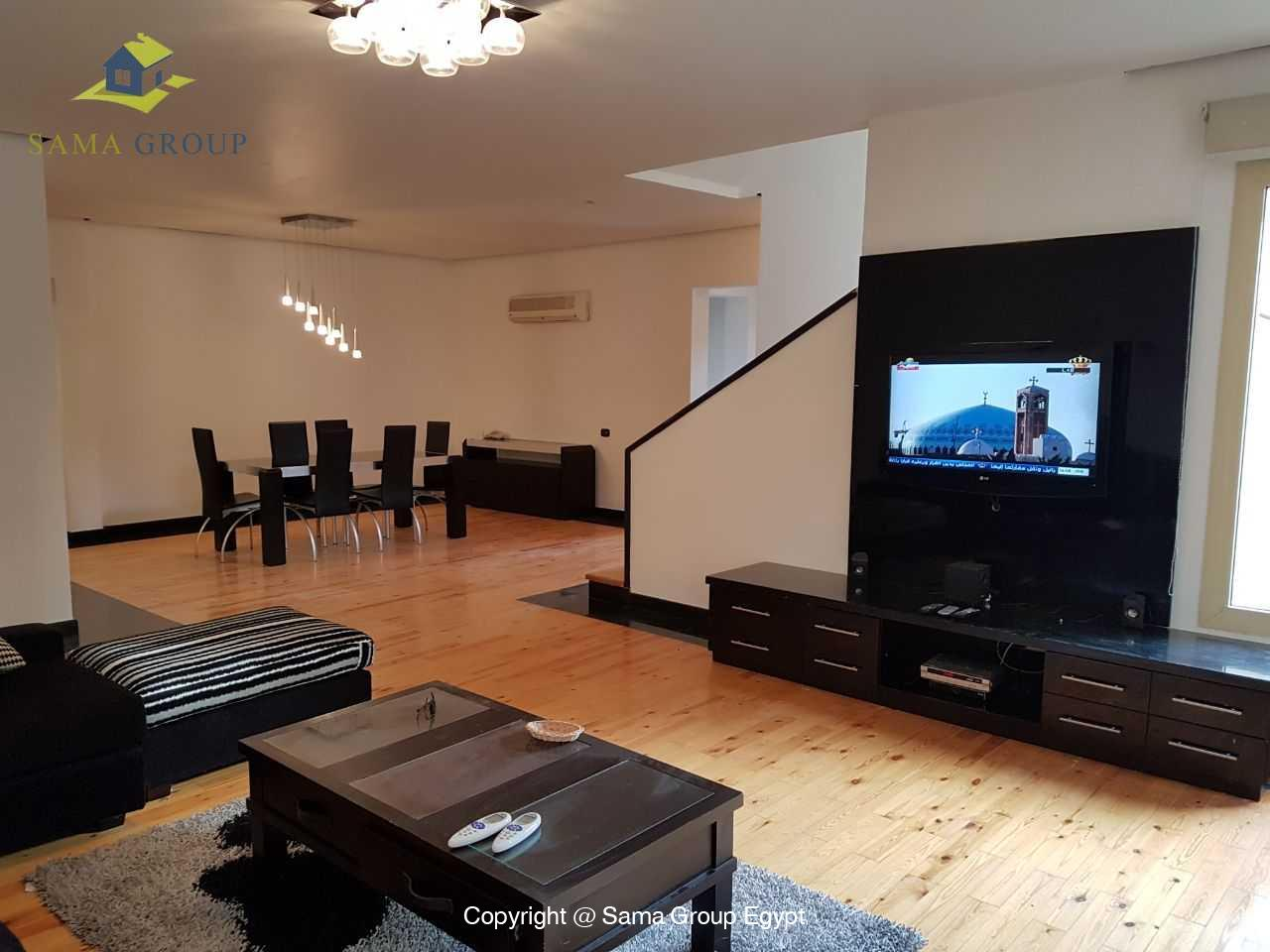 Modern Ground Floor For Rent In Katameya Heights,Furnished,Ground Floor NO #13