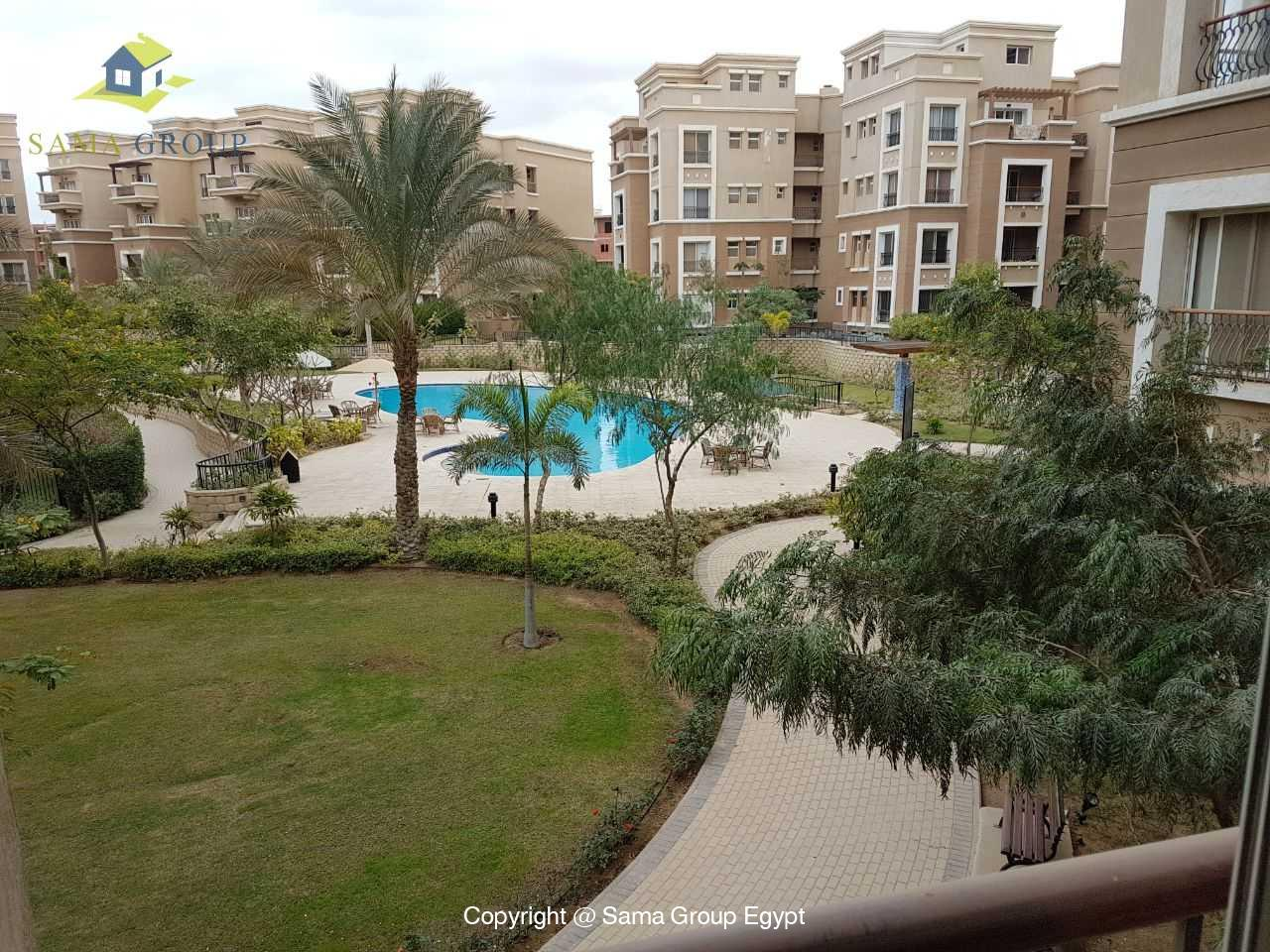 Furnished Apartment For Rent In Katameya Plaza New Cairo