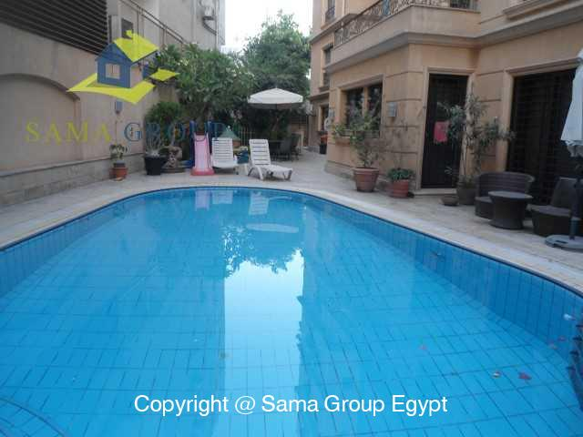 Modern Apartment with Pool For Rent In Maadi,Modern Furnished,Apartment NO #6
