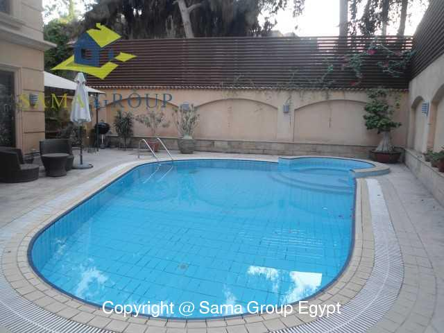 Modern Apartment with Pool For Rent In Maadi,Modern Furnished,Apartment NO #5