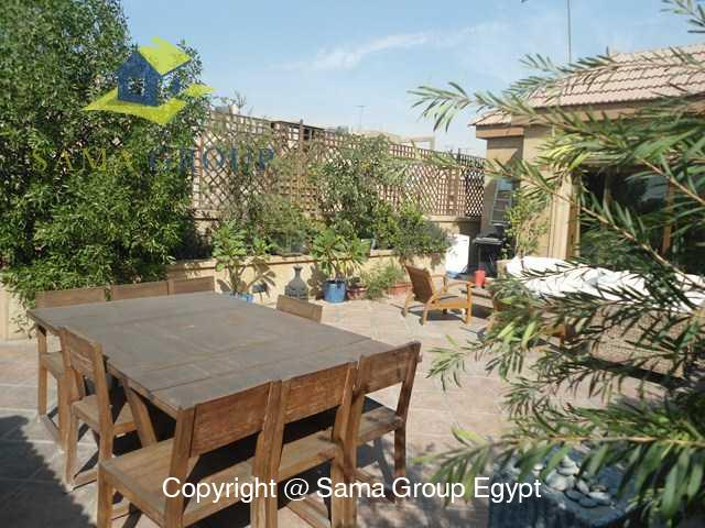 Penthouse with Swimming Pool For Rent In Maadi,Modern Furnished,Penthouse NO #15