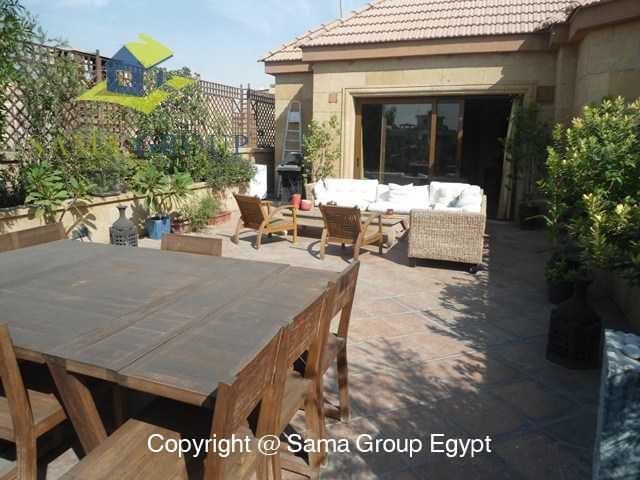 Penthouse with Swimming Pool For Rent In Maadi,Modern Furnished,Penthouse NO #16