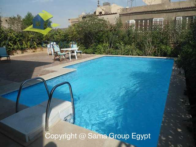Penthouse with Swimming Pool For Rent In Maadi,Modern Furnished,Penthouse NO #18