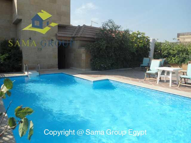 Penthouse with Swimming Pool For Rent In Maadi,Modern Furnished,Penthouse NO #19