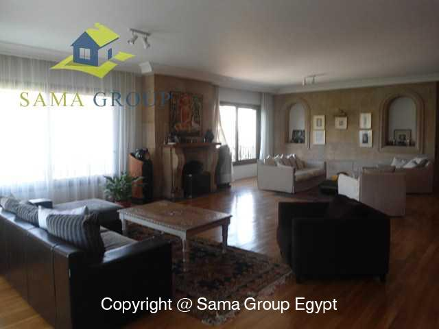 Penthouse with Swimming Pool For Rent In Maadi,Modern Furnished,Penthouse NO #21