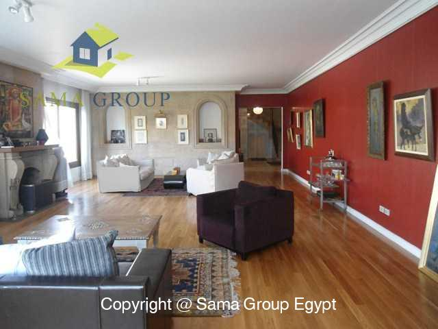 Penthouse with Swimming Pool For Rent In Maadi,Modern Furnished,Penthouse NO #22