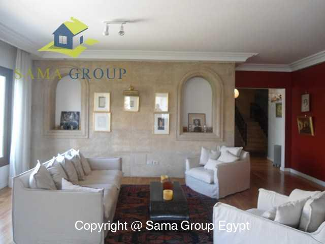 Penthouse with Swimming Pool For Rent In Maadi,Modern Furnished,Penthouse NO #24